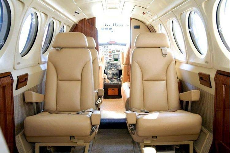 King Air 350 Private Jet