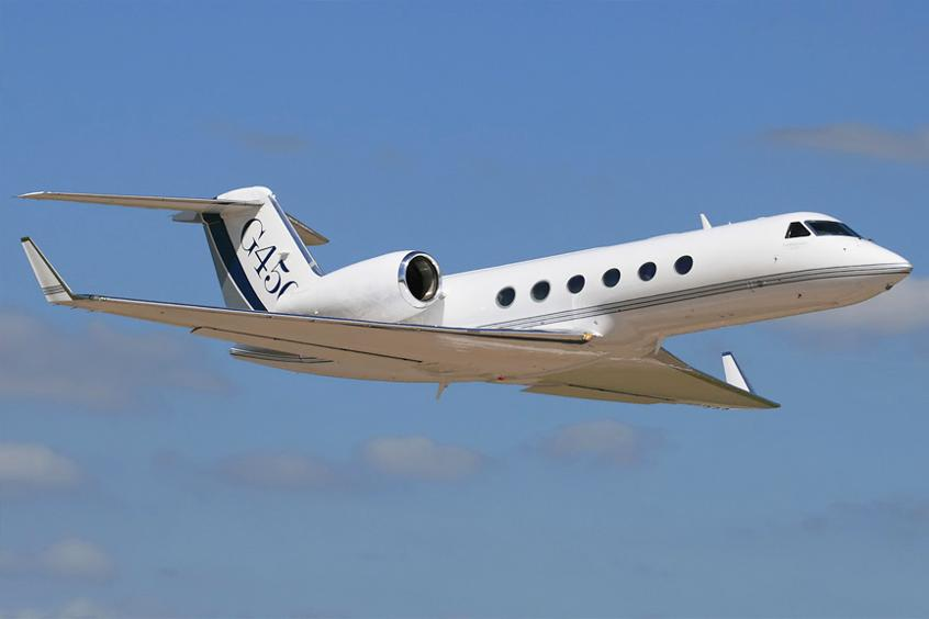 Gulfstream G450 Private Jet