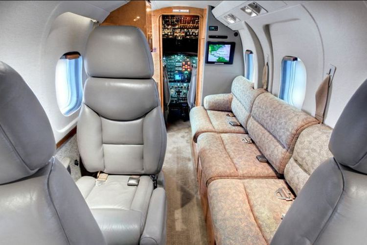 Westwind II Private Jet