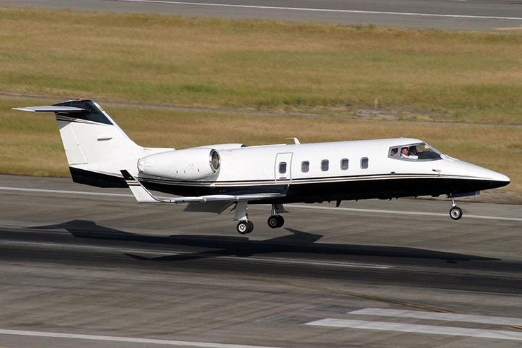 Learjet 55 Private Jet