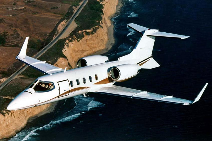 Learjet 31 Private Jet
